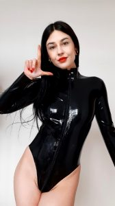 You're A Weak Loser For A Woman In Latex…
