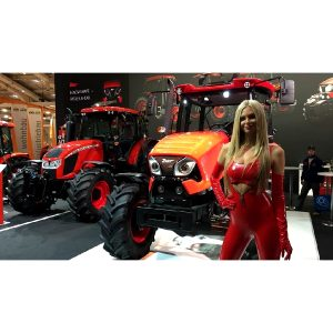 Zetor's Lady In Red From Agritechnia