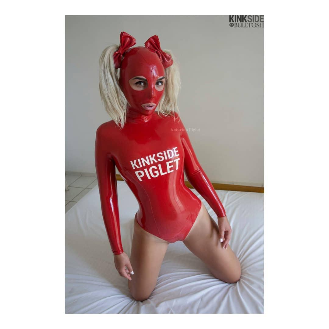 Katerina Piglet In Red