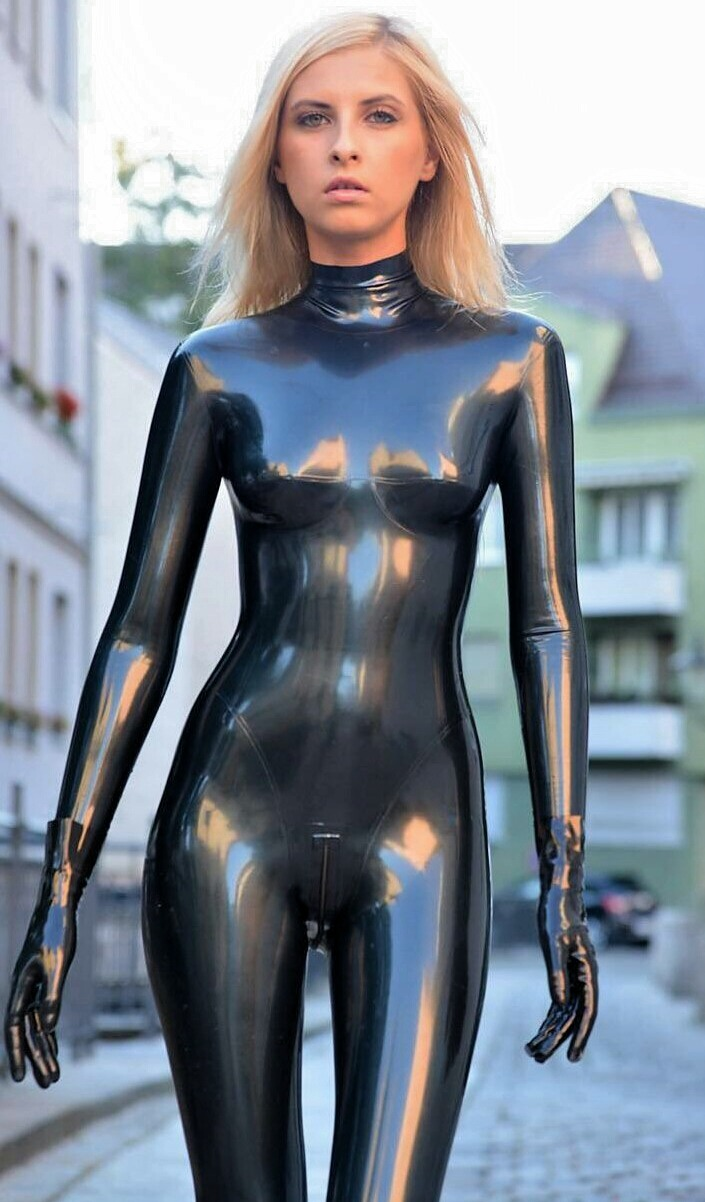 Black Catsuit On The Street